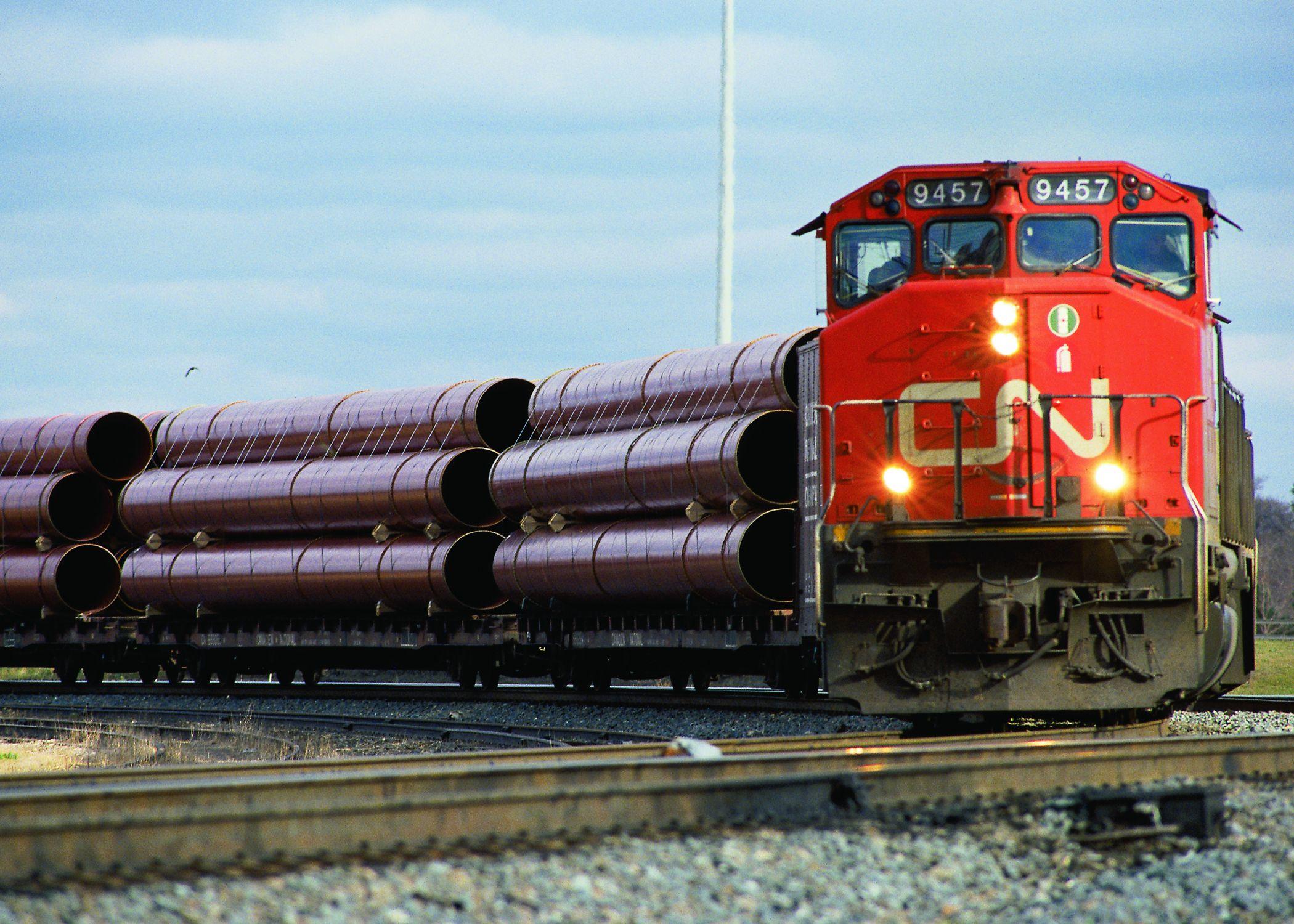 Lok der Eisenbahngesellschaft Canadian National Railway: Der Vorstand des Dividendenkönig erwartet ein starkes Gesamtjahr 2017. / Foto: Unternehmen