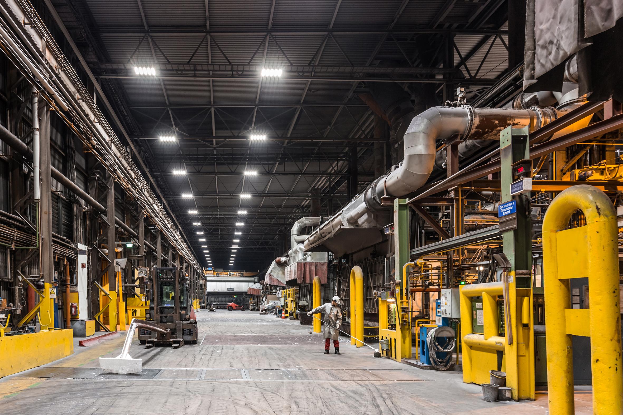 Die Deutsche Lichtmiete-Gruppe aus Oldenburg in Niedersachen stellt LED-Industrieprodukte für Gewerbe- und Industriekunden her. / Foto: Unternehmen