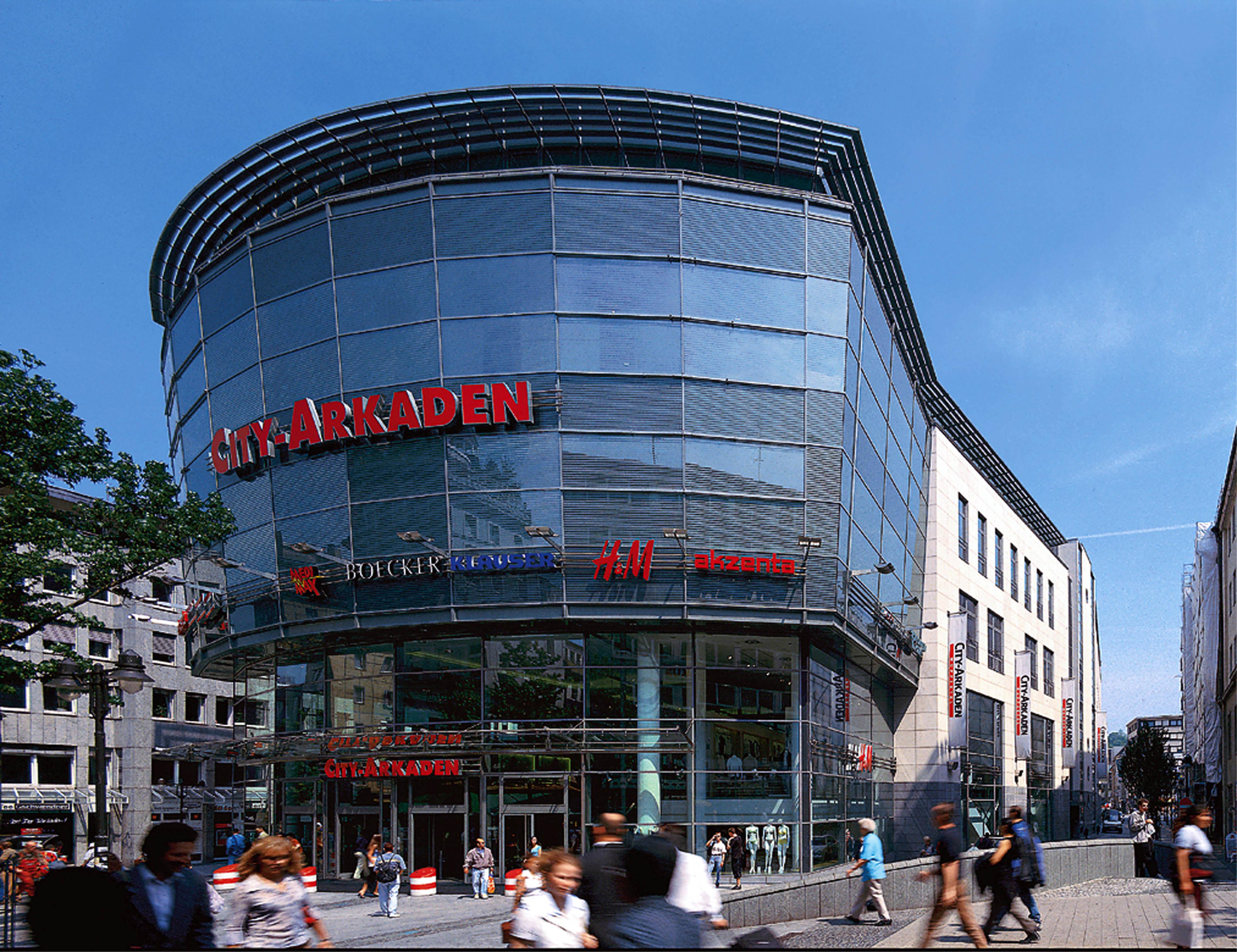 Shopping-Center der Deutsche EuroShop AG in Wuppertal. / Foto: Unternehmen