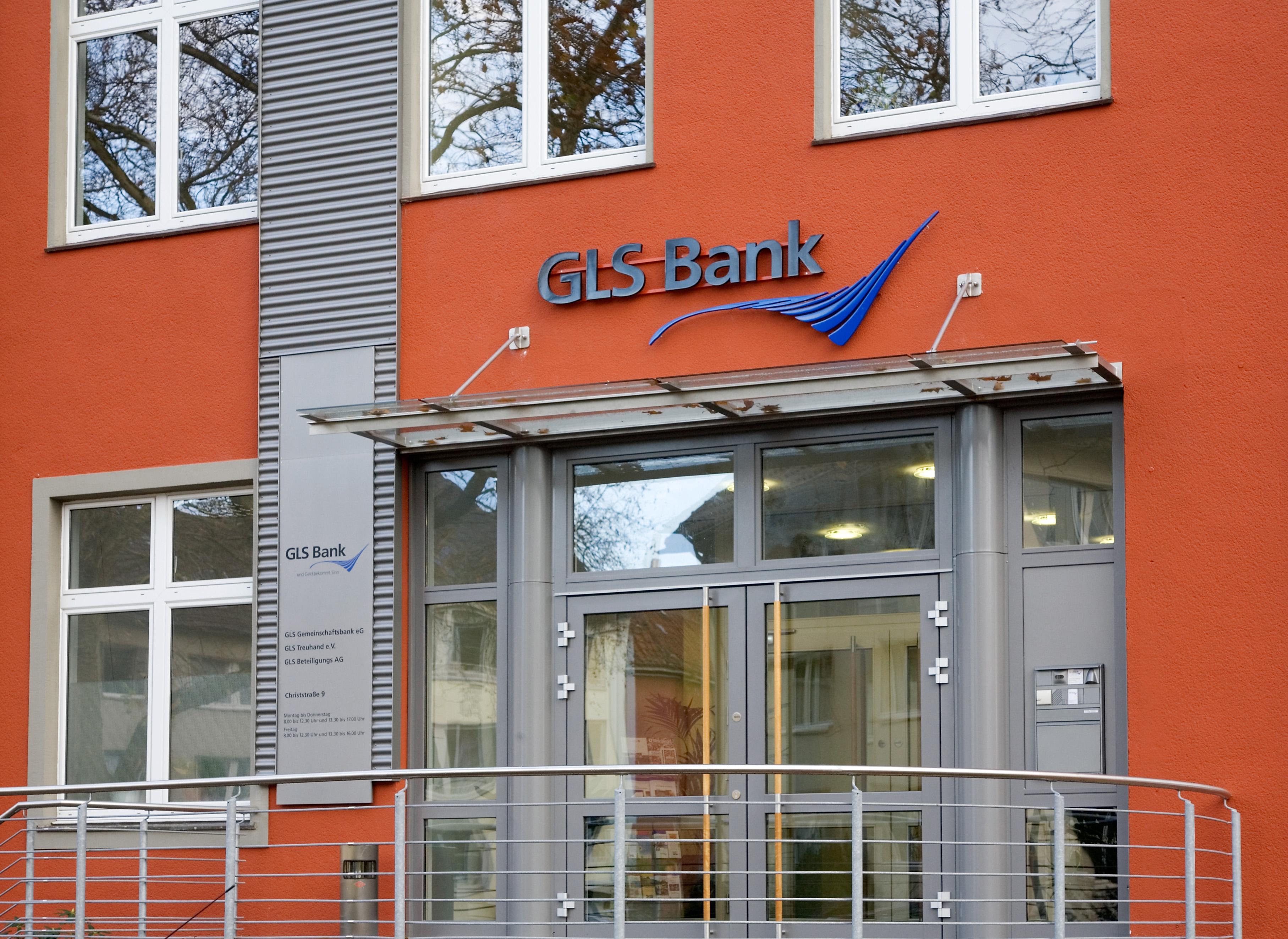Nachhaltige Banken wie die GLS Bank (im Bild) hoffen auf Kundenzuwachs. Aber auch der Aufwand steigt mit dem neuen Kontowechselservice.