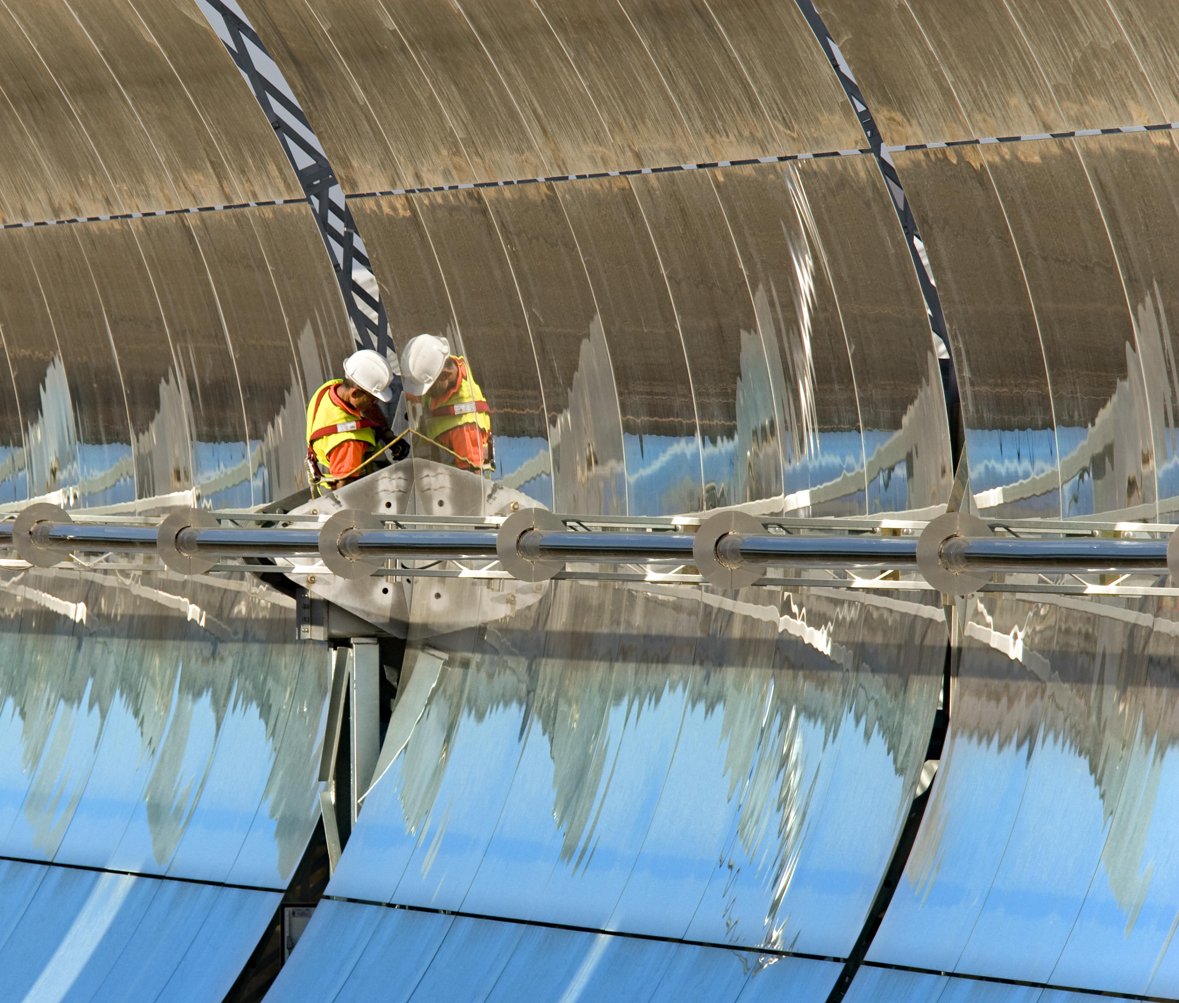 Die insolvente Solar Millennium AG plante und errichtete solarthermische Kraftwerke. / Foto Unternehmen