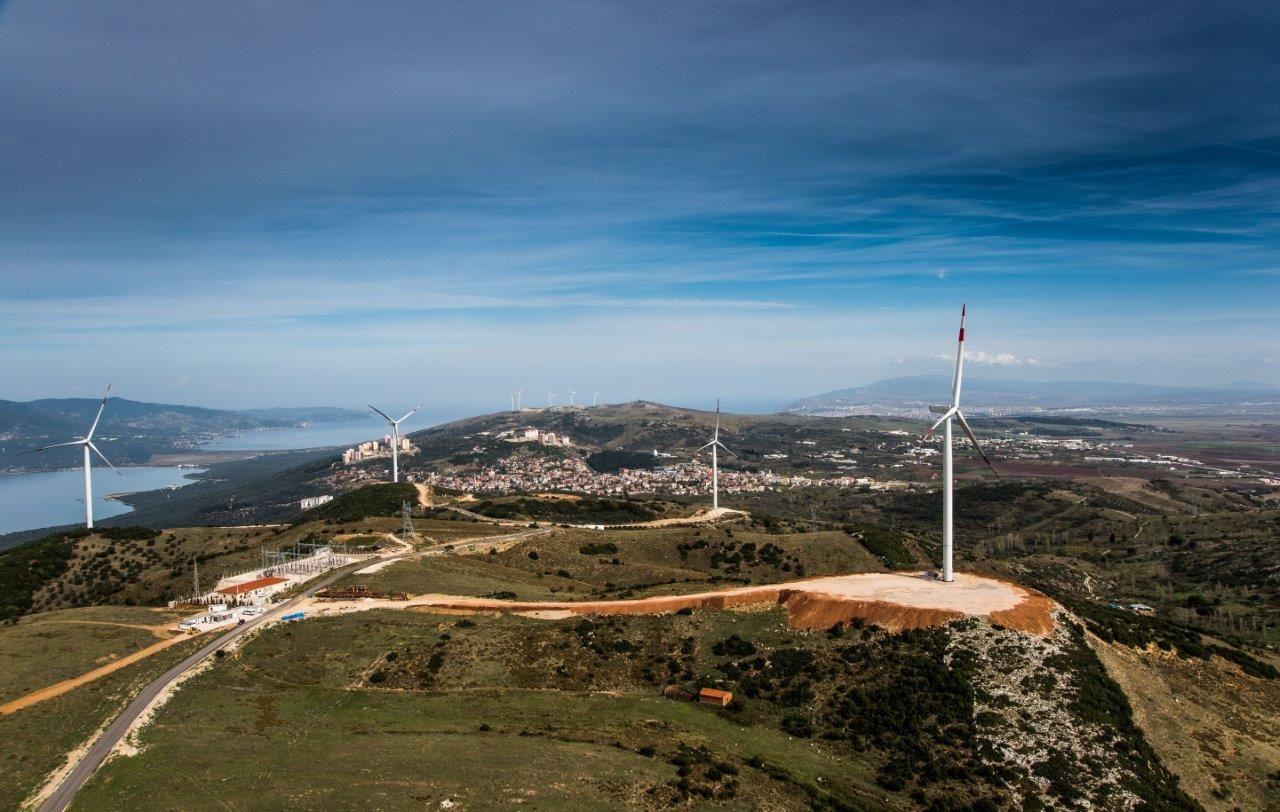 Diese Windkraftanlagen von Nordex drehen sich in einem türkischen Windpark. In der Türkei ist Nordex Marktführer. / Foto: Nordex SE