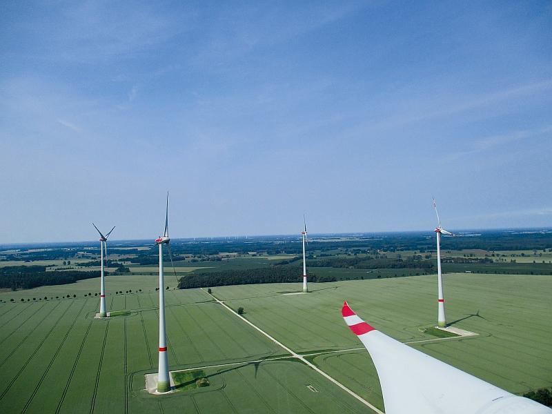 Prokon Regenerative Energien eG hat den Windpark Gagel realisiert. / Foto: Unternehmen