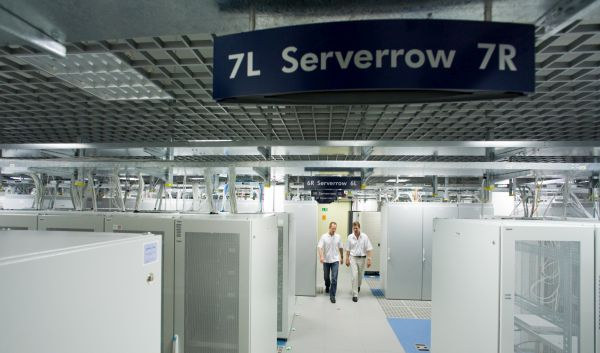 Data Center von SAP am Standort St. Leon Rot: Die nachhaltige Software-Aktie profitiert vom anhaltend guten Cloud-Geschäft. / Foto: © SAP AG / Wolfram Scheible