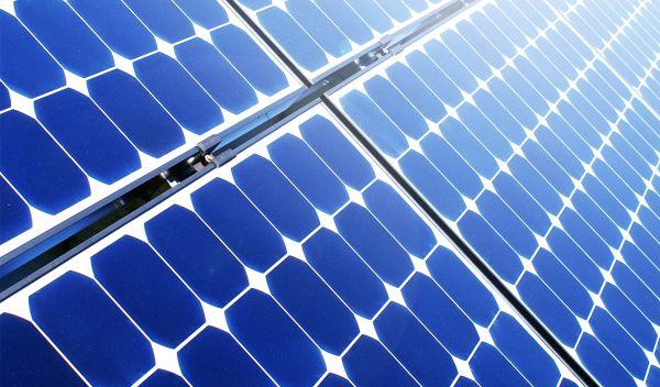 Solar im Sonnenlicht