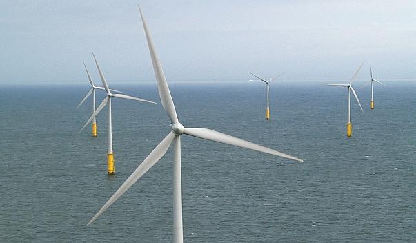 Offshore-Windpark mit Anlagen von Vestas: Das Joint-Venture von Vestas und Mitsubishi erhielt eine große Offshore-Order. / Foto: Unternehmen