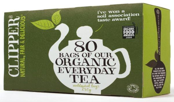 Bio-Tee der Marke Clipper gehört zum Bio-Lebensmittelangebot von Wessanen. / Foto: Unternehmen