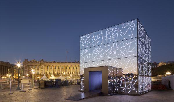 Der nachhaltige Rentenfonds des Jahres 2016 ist stark in Anleihen der Compagnie de Saint-Gobain investiert. Dieser Pavillon in Paris wurde mit Spezialglas des französischen Konzerns errichtet. / Foto: Unternehmen