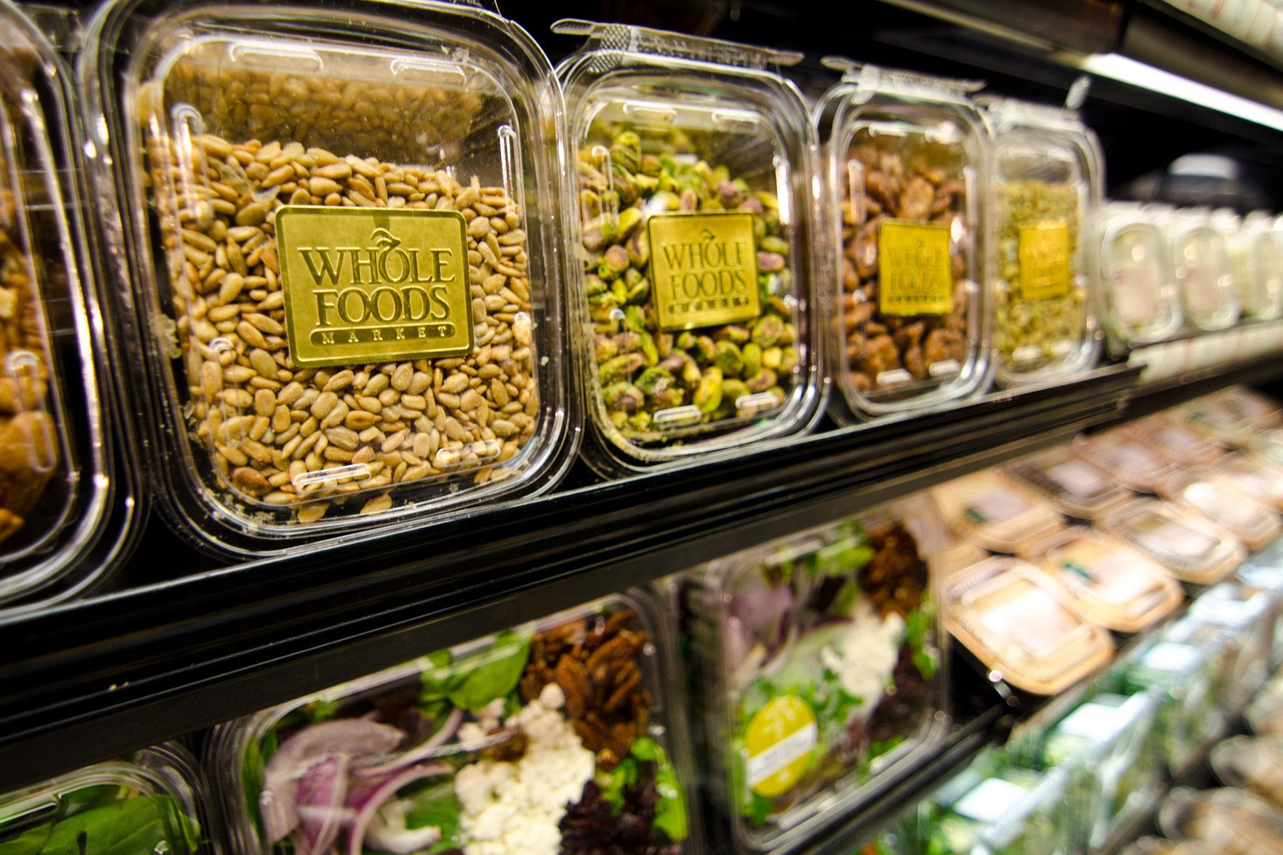 Viele Bio-Lebensmittel von Whole Foods Market stammen vom Großhändler United Natural Foods. Die Aktien der beiden Unternehmen haben sich jetzt gegenläufig entwickelt. / Foto: Whole Foods Market